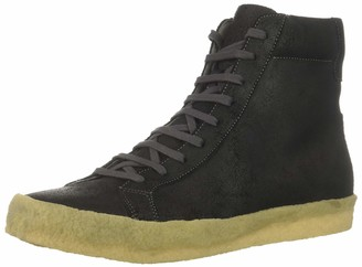 TCG Men's Apache Crepe High Top Sneaker Rubber Sole