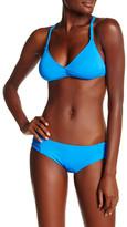 Lucky Brand Moccasin Halter Bikini Top