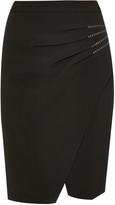 L'Agence Karen ponte wrap skirt