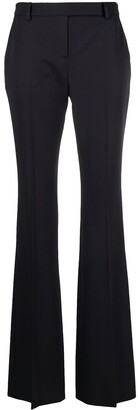 Alexander McQueen Flared Tailored Trousers