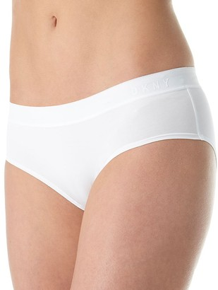 DKNY Women's Classic Cotton Boy Brief Panty
