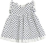 Il Gufo Star Printed Cotton & Linen Blend Dress