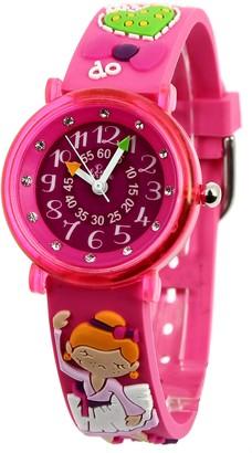 Baby Watch Babys Watch606030ClassicoChildrens WatchQuartzPink Dial Pink Plastic Strap