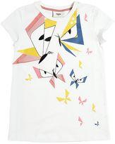 Fendi Butterflies Print Cotton Jersey T-Shirt