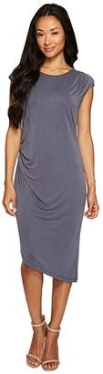 Nic+Zoe Cloud Nine Dress (Washed Slate) Women's Dress