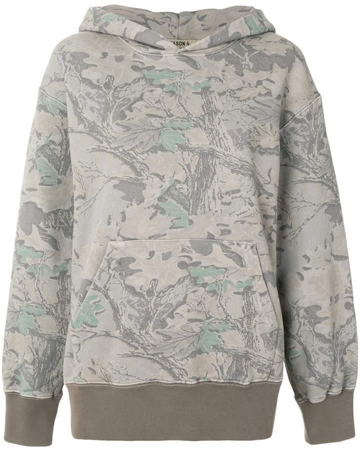 Yeezy printed hoodie