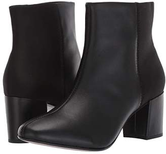 Clarks Chantelle Stone (Black Leather/Synthetic Combi) Women's Boots