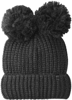 Karl Lagerfeld Knit Hat with Pom-Poms