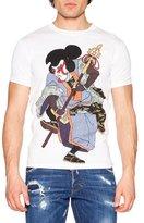DSQUARED2 Samurai Graphic T-Shirt, White