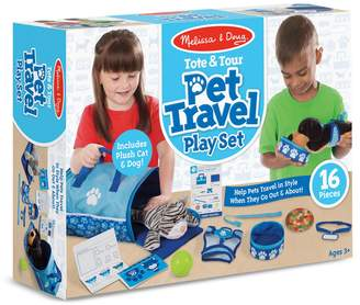 Melissa & Doug Role Play Tote Tour Pet Travel Play Set