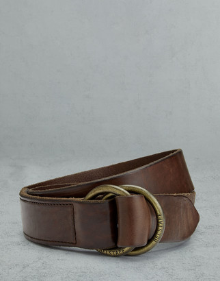 Belstaff Collier 4cm Leather Belt