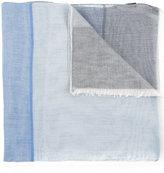 Cerruti checked scarf - men - Cotton - One Size
