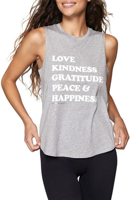 Spiritual Gangster Happiness Muscle Tank Top