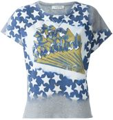 Valentino 'Star Studded' T-shirt - women - Cotton/Polyamide - XS