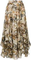 Chloé printed skirt - women - Silk/Polyester - 36