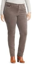 Lauren Ralph Lauren Plus Premier Straight Corduroy Pants