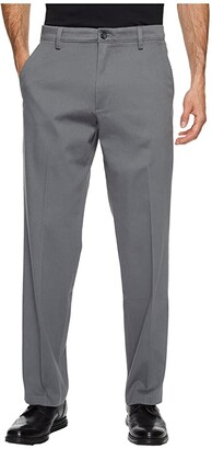 Dockers Easy Khaki D2 Straight Fit Trousers (Dark Pebble) Men's Clothing