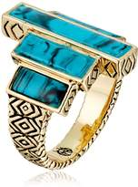 House Of Harlow 190 Color The Long Rains Steps Ring