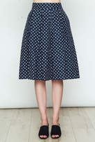 Movint Polka Dot Flared Skirt