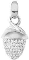 Tamara Comolli Mikado Bouquet 18K White Gold & Diamond Pave Acorn Pendant