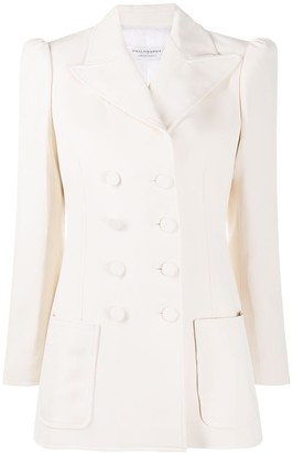 Philosophy di Lorenzo Serafini Fitted Double-Breasted Blazer