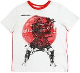 John Galliano Samurai Printed Cotton Jersey T-Shirt