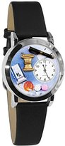 Whimsical Watches Women's S0610005 Pharmacist Black Leather Watch