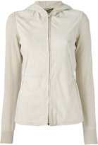 Loro Piana Bomber Gwyneth jacket - women - Leather/Cashmere - 42