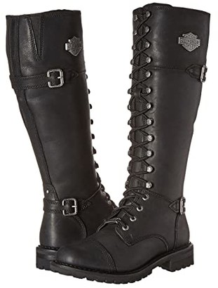Harley-Davidson Beechwood (Black) Women's Lace-up Boots