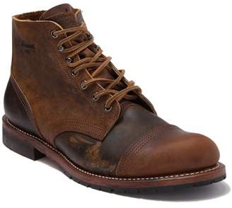 Thorogood Dodgeville Cap Toe Leather Boot