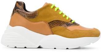 Twin-Set colour block sneakers