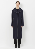 Marni Blublack Wool Duster Coat