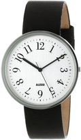 Alessi Men's AL6003 Record Stainless Steel Case Tone Dial Designed by Achille Castiglioni Watch