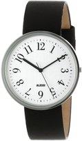 Alessi Men's AL6003 Record Stainless Steel Case Tone Dial Designed by Achille Castiglioni Watch