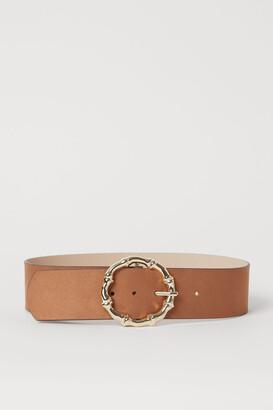 H&M Wide Waist Belt - Orange