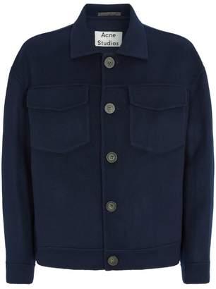 Acne Studios Wool Oversized Jacket