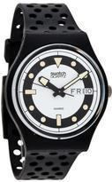 Swatch Black Divers Watch