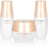 Jolie Femme 24K Instant Brightening Oxygen Treatments (Mask, Cream & Serum)