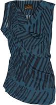 Vivienne Westwood Chase printed crepe top