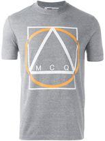 McQ by Alexander McQueen Multi Geo print T-shirt