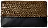 Jessica McClintock Carlee Large Fold-Over Clutch