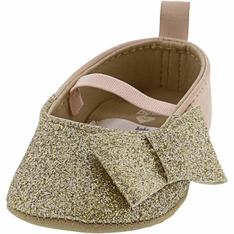 Osh Kosh Girl's Glitter Bow Mary Jane Shoes Flat