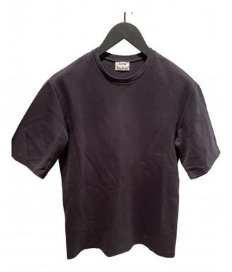 Acne Studios Navy Cotton T-shirts
