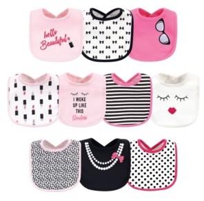 Little Treasure Baby Girls Bibs Pack of 10
