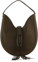 Altuzarra Ghianda Large Woven Leather Shoulder Bag