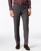 Lauren Ralph Lauren Men's Classic Fit Medium Gray Micro-Check Dress Pants
