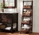 Pottery Barn Ladder Floor Storage