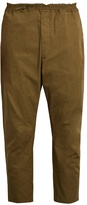 Oamc Cropped cotton trousers