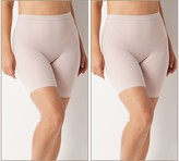 Spanx Smooth It Extended Length Mid-Thigh Short Set of 2