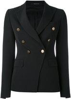 Tagliatore double breasted blazer - women - Polyester/Spandex/Elastane/Cupro - 42